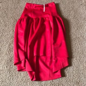 NWT- ASOS high low skirt. Size US 8